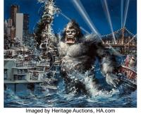 King Kong original movie poster artwork
